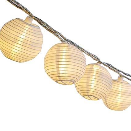 AceList Paper Lantern String Lights For Bedroom, Outdoor Indoor Chinese  Japanese Style Decor   20