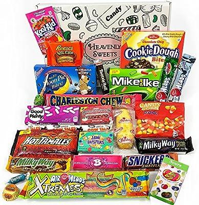 Gran caja de American Candy | Golosinas y barra de chocolate de ...
