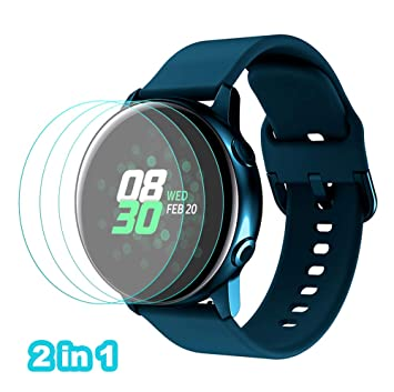NOKOER Correas para Samsung Galaxy Watch Active 2 44MM, [2 in 1 ...