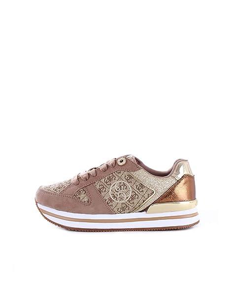 GUESS FLDA44FAL12 Zapatillas Mujer Beige 36: Amazon.es: Zapatos y complementos