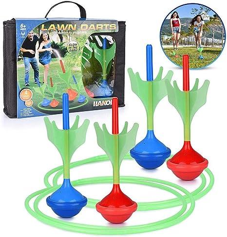 Foyar - Juego de dardos gigantes para jardín, 10 ajustados.: Amazon.es: Deportes y aire libre