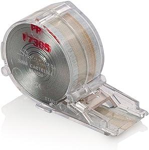 "Swingline Standard Staple Cartridge, 5,000 Staples/Cartridge, 1/4"" Leg Length (50050)"