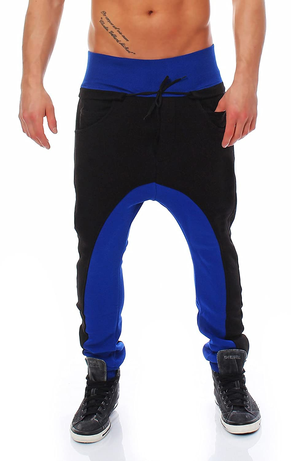 malito Men's Carrot Trousers