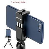 Ulanzi Iron ST-02s Aluminium Smartphone Tripod Mount Stand Adapter Vertical Shooting for iPhone X 8 plus Samsung Mobile Tripod