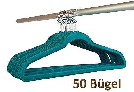 Smart Hanger Bugel Mit Steg Platzspar Antirutsch Samt