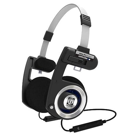 KOSS Porta Pro Bluetooth Porta Pro Bluetooth nero argento  Amazon.it ... 19b8bd942b3e