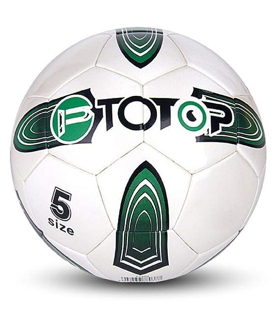 Shenhai Fútbol Fútbol Infantil N ° 4 Núm. 5 Carcasa de fútbol Juvenil Fútbol de Entrenamiento para Estudiantes, Blanco, N ° 5: Amazon.es: Hogar