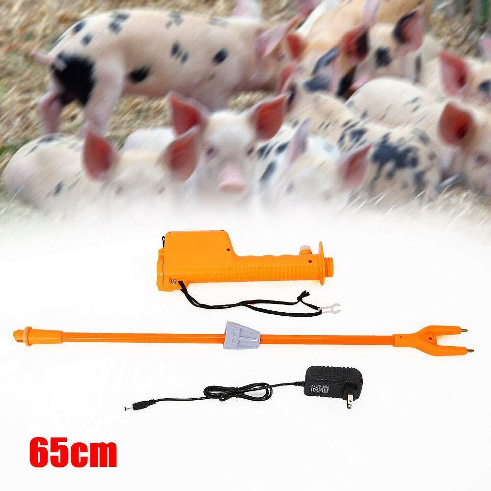 ONEPACK 65CM Cattle Prod Shaft Animal Pet Drive Rechargeable Prod Shock Coax Pig Sheep Goat Cattle Flock Farm Ranch Husbandry Equipment