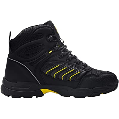MENS WORK STEEL TOE CAP LIGHTWEIGHT SAFETY TRAINERS HIKING SHOE CONSTRUCTION