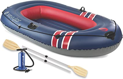 Amazon.com: Sevylor Caravelle 300 3-person Barco Combo ...