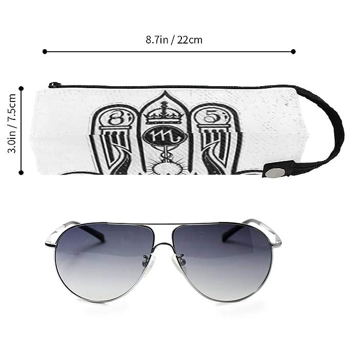 Amazon.com: SLHFPX Illuminati - Funda para gafas de sol ...