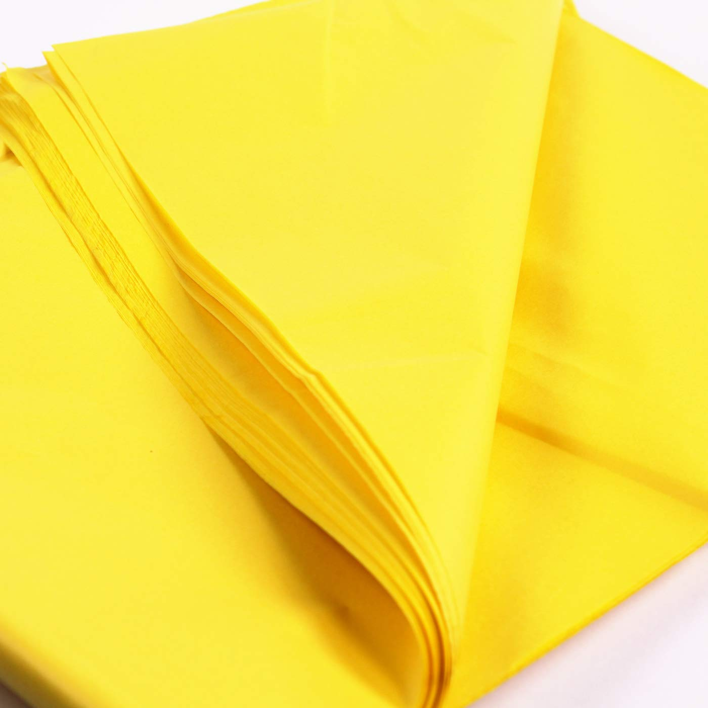 25 Lemon Yellow Tissue Paper Sheets, Acid Free Tissue Paper, Art Tissue Paper, Gift Wrap Tissue, Tissue for Decorations