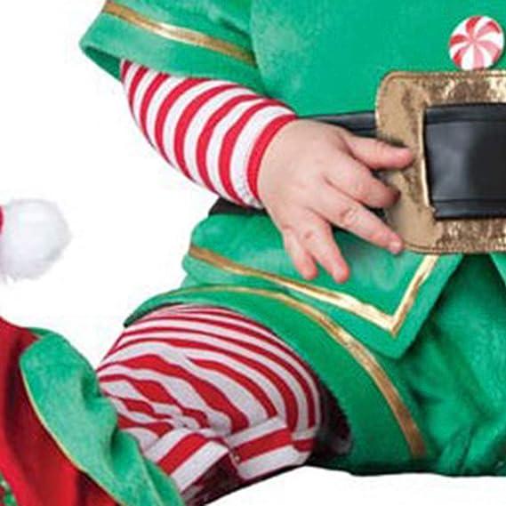 Hut 2tlg Kleidungsset Herbst Winter Kleidung IWEMEK Neugeborene Baby Jungen M/ädchen Meine erste 1 Weihnachten Outfits Xmas Elf Santa Kost/üm Rentier Schneemann Baumwolle Strampler Langarm Bodysuit