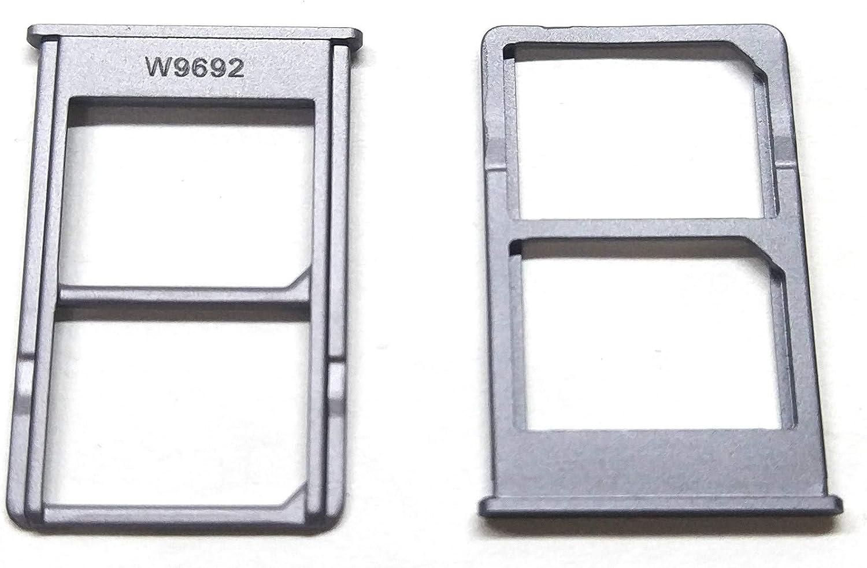 Desconocido Bandeja SIM para Xiaomi Mi 5S Plus Mi5S+ Color Negro Soporte Adaptador Porta Tarjeta Nano Micro SD