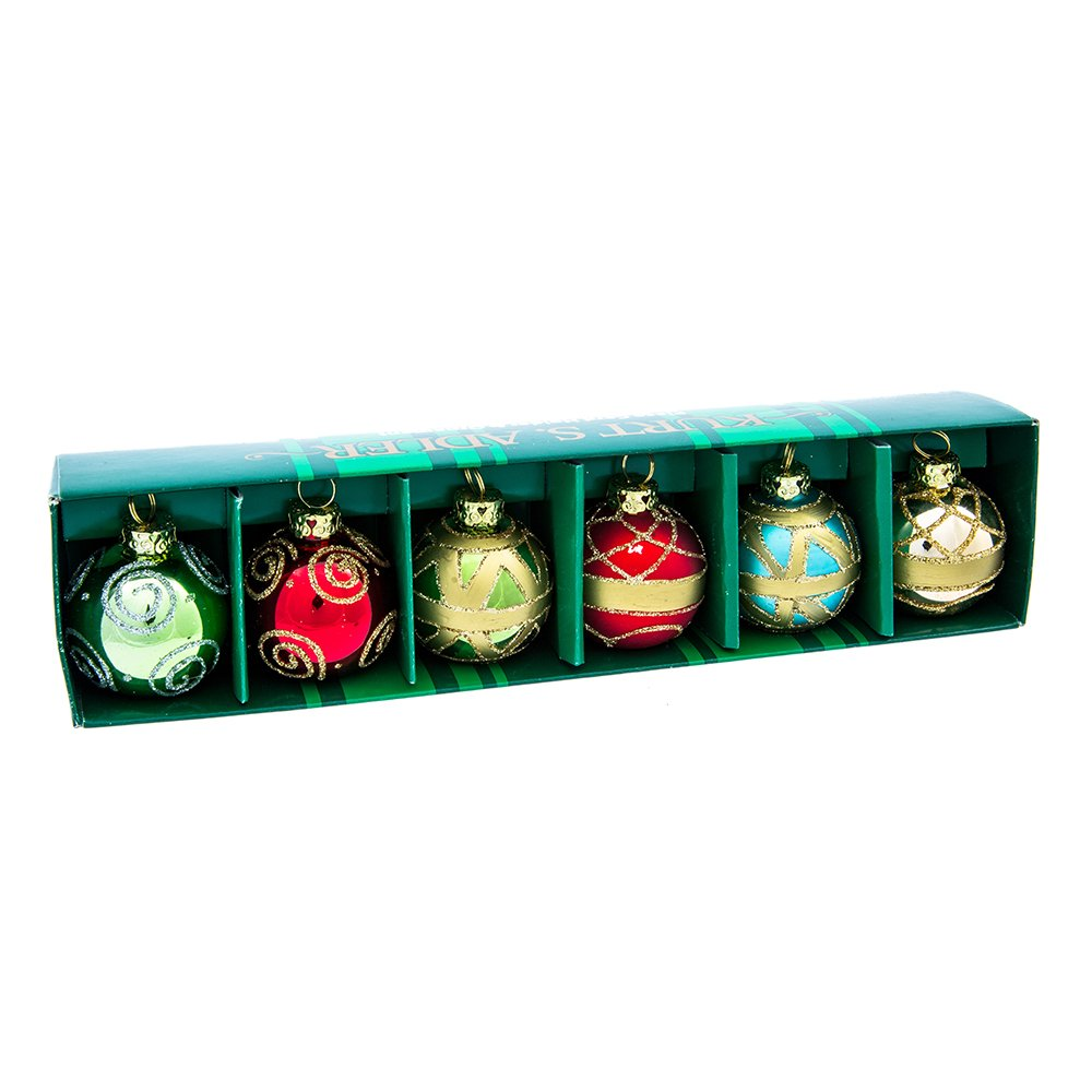 christmas place card holders ball ornament w place cards set of 6 health personal. Black Bedroom Furniture Sets. Home Design Ideas