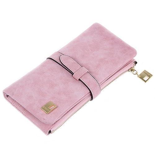 Excellent shop - Cartera para mujer de poliuretano mujer, color rosa, talla Talla única: Amazon.es: Zapatos y complementos