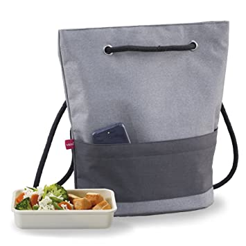 Valira Mobility Take Away Insulated Lunch Bag, Black