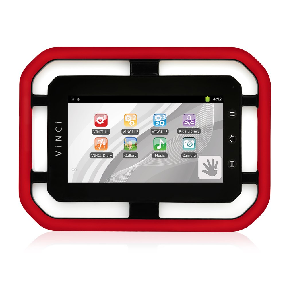 VINCI Tab II 7'' Touch Learning Tablet with WiFi, Android 2.3