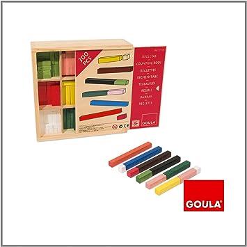 Goula - Juego de las regletas en caja (Diset 51106) , color/modelo ...