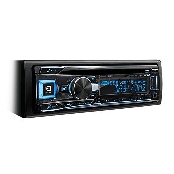 Alpine CDE-196DAB - Radio para coches (200 W, pantalla LCD, USB