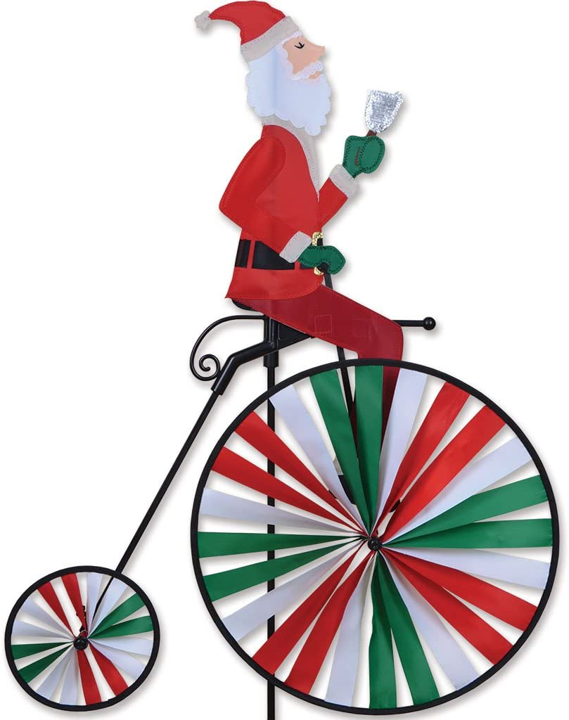 Premier Kites High Wheel Bike Spinner - Santa