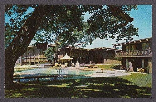Mark Thomas Inn at Del Monte Monterey CA postcard - Del Monterey Monte