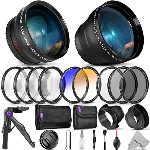 52mm Essential Accessory Kit for Nikon DSLR Bundle with Vivi