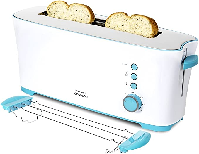 Cecotec Toast&Taste 1L - Tostadora con Capacidad para dos Tostadas ...