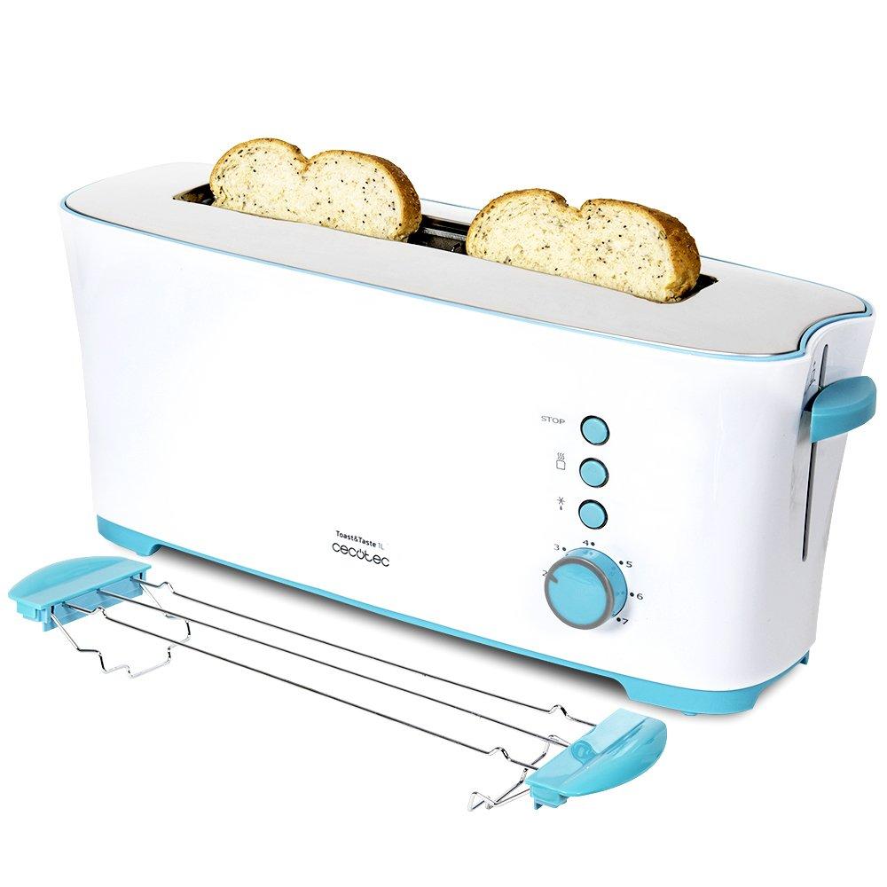 Cecotec Tostadora Toast Taste L Con capacidad para dos tostadas Ranura XL