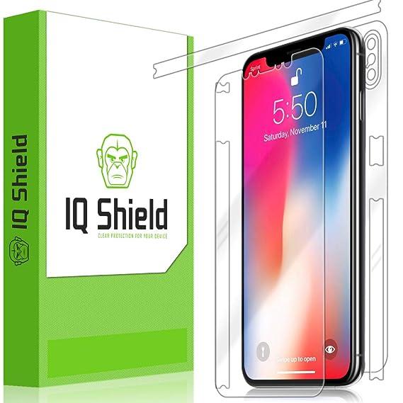 differently 461fc aab6a Apple iPhone XS Max Screen Protector, IQ Shield LiQuidSkin Full Body Skin +  Full Coverage Screen Protector for Apple iPhone XS Max (6.5