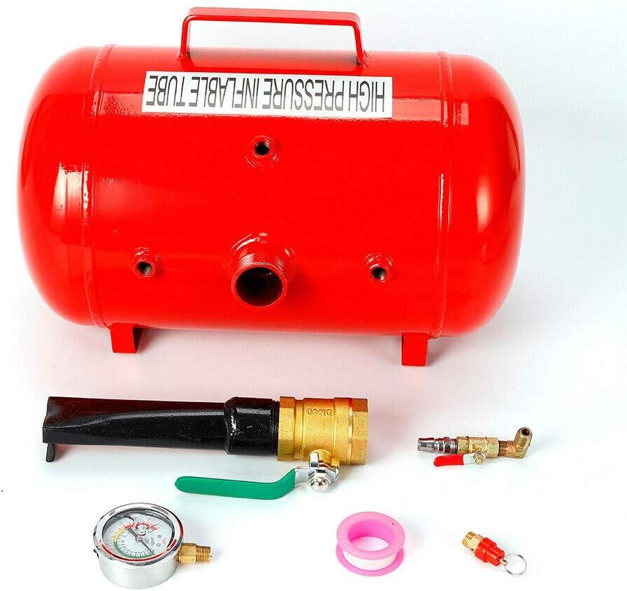 Reifenf/üller Air Booster Auto Reifen Vakuum Inflator Luftkanone Montage F/üllhilfe 20L//40L