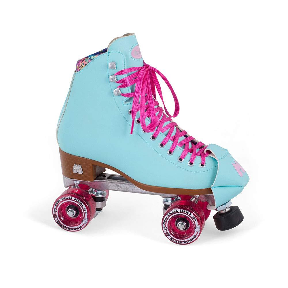Moxi Skates - Beach Bunny - Fashionable Womens Roller Skates | Blue Sky | Size 1