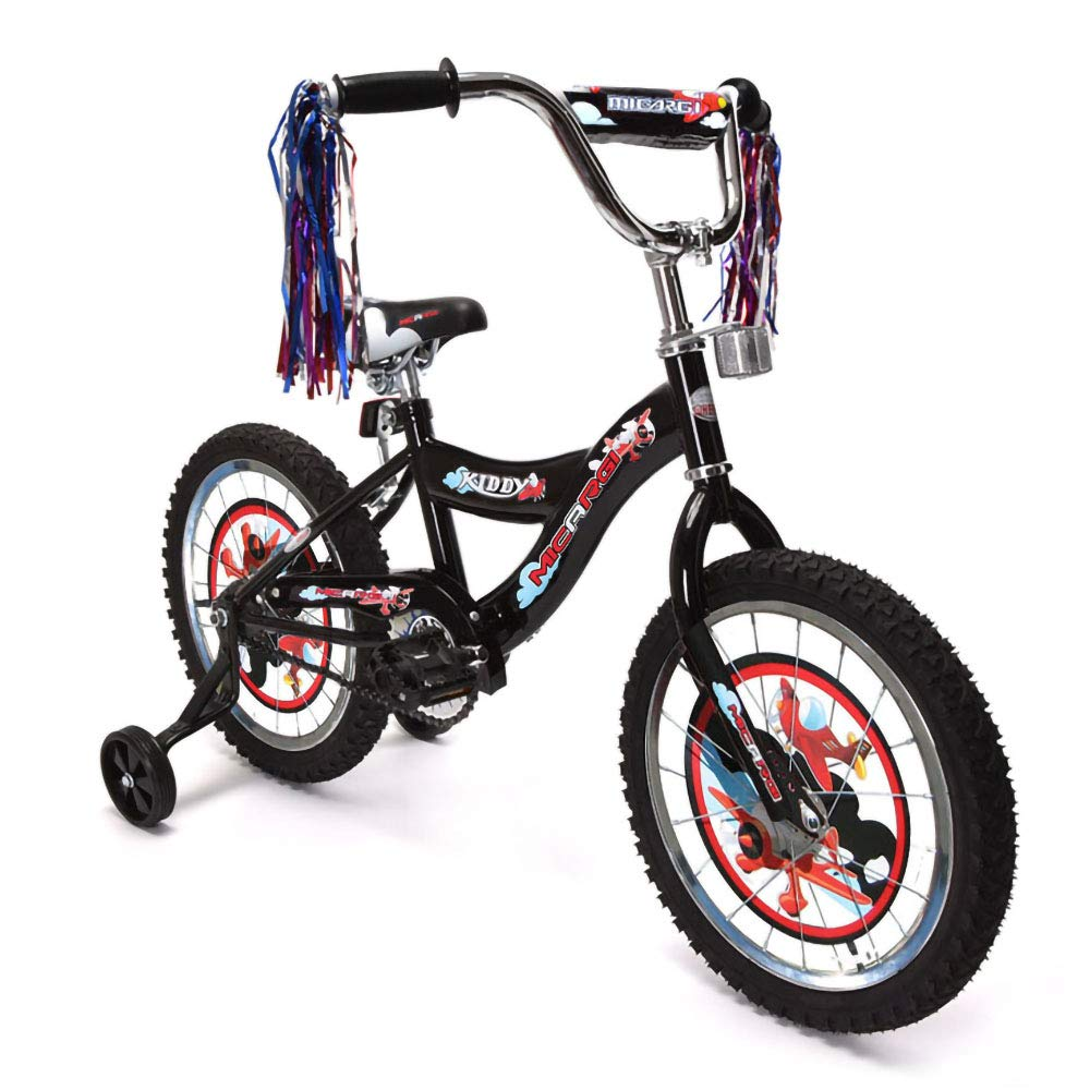 ChromeWheels Boys and Girls Bike, 12-14-16 Kid s Bicycle for 2-6 Years Old, EVA Tires, Training Wheels with Coaster Brake