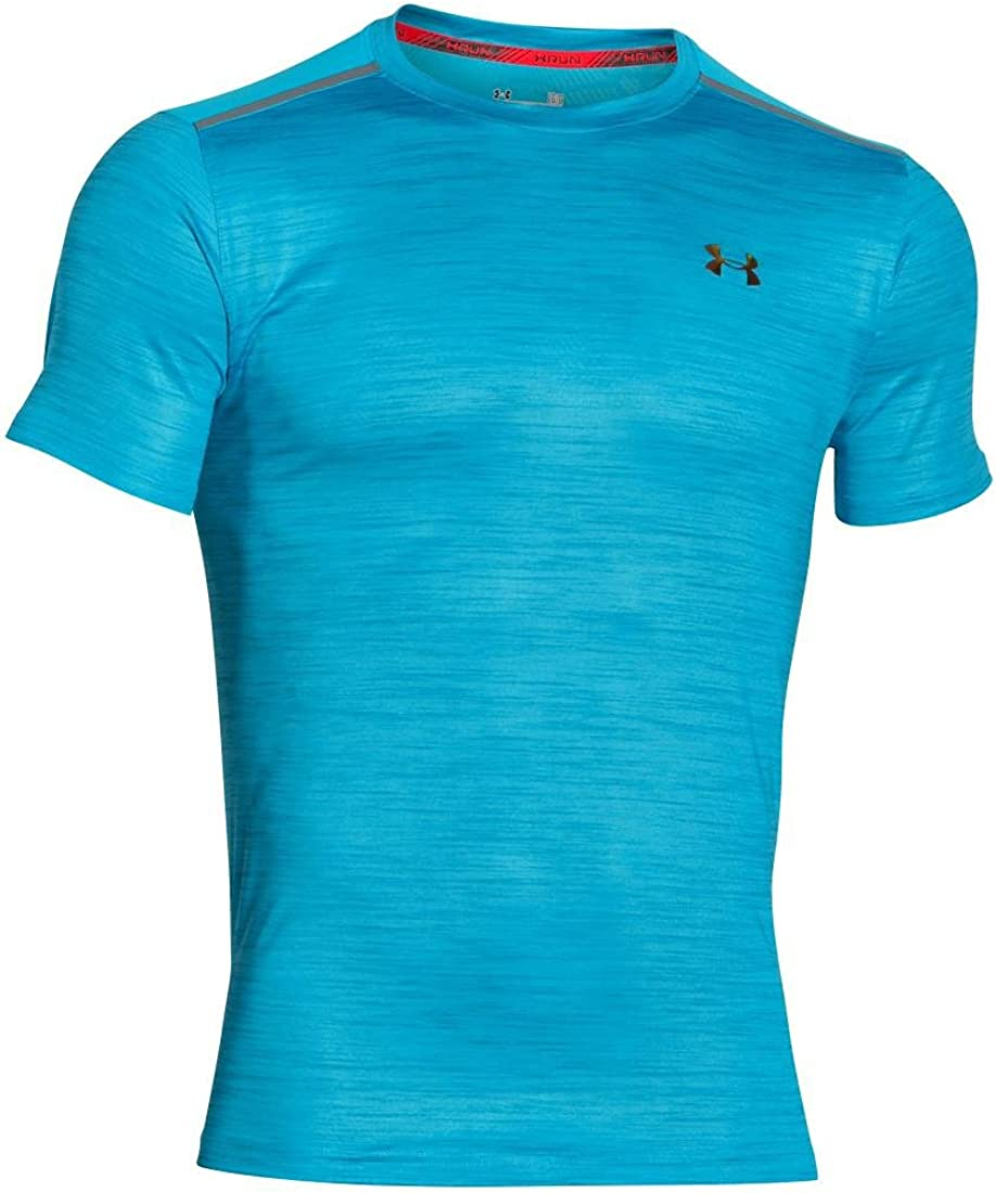 Mens Under Armour Coolswitch Run Podium SS Tee