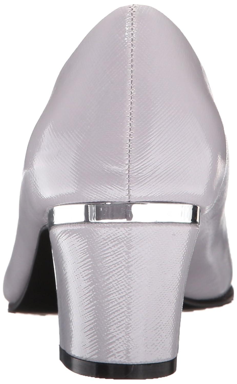 Soft Style Hush Puppies Dress Women's Deanna Dress Puppies Pump B010P58E70 7.5 N US|Evening Haze Cross Hatch Patent/Silver Heel c699e1