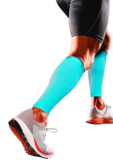 4e28d68e216756 Shock Doctor RE+ SVR Recovery Compression Calf Sleeve X Small Blue