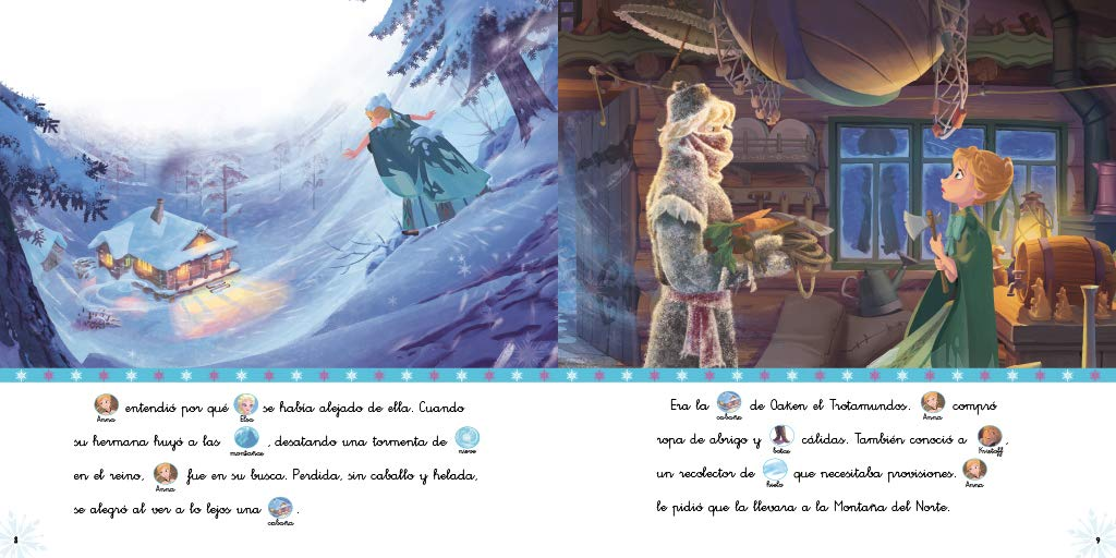 Frozen | Luces de invierno | Una aventura de Olaf (Mis lecturas Disney): Disney: 9788416931446: Amazon.com: Books