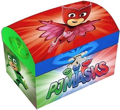 Disney – PJ Masks Caja Joyas cartón baúl, pj17011: Amazon.es: Juguetes y juegos