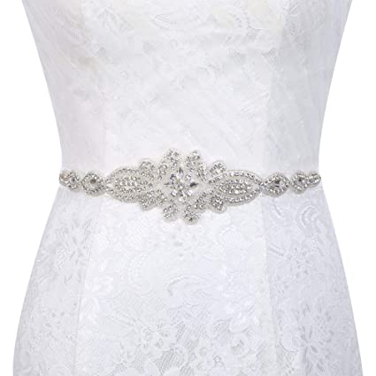 Amazon Com Rhinestone Belt Sash Wedding Rhinestone Belts For