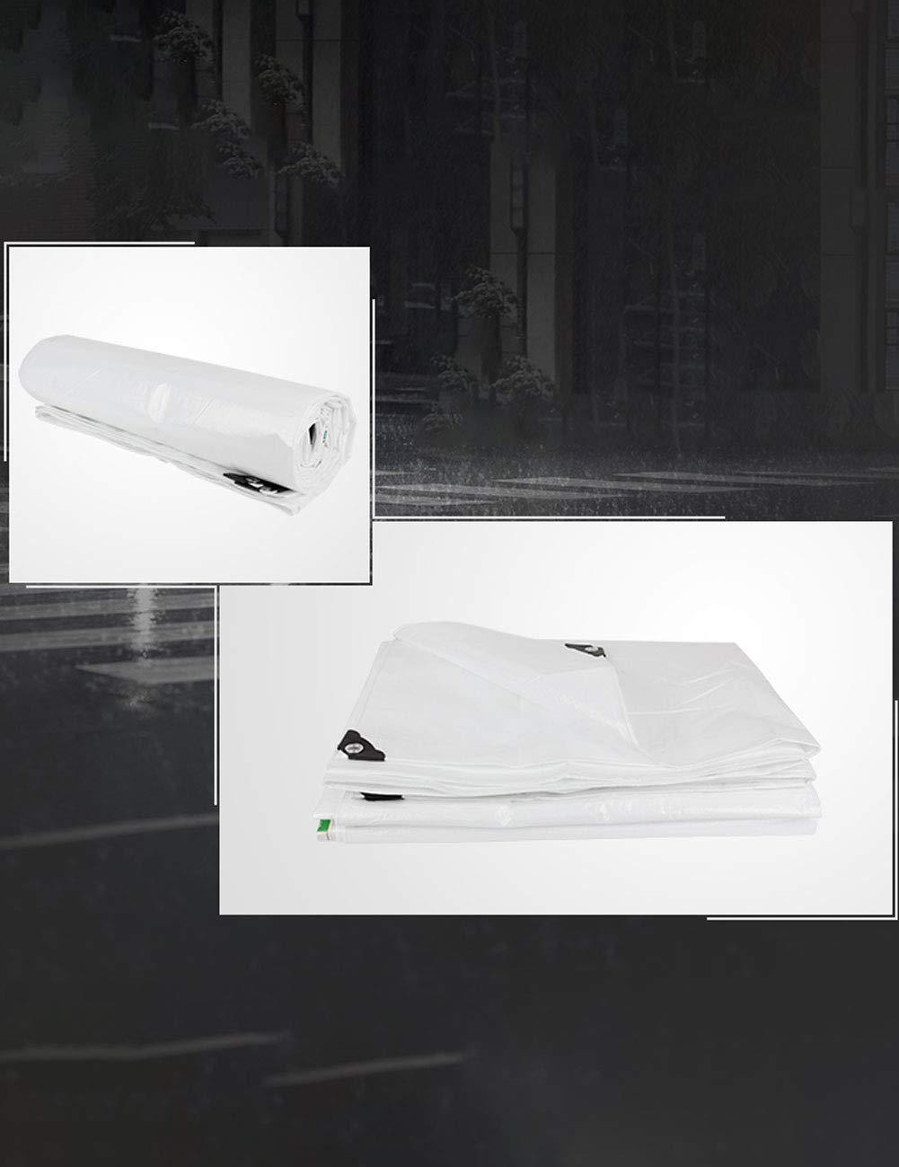 DLewiee Tarpa di di di tenda da campeggio impermeabile per tende da campeggio resistente alla tela cerata bianca (Dimensione   5m6m) B07HGQBR75 Parent | Sconto  | Export  | Più economico del prezzo  | Arte Squisita  ccc11e