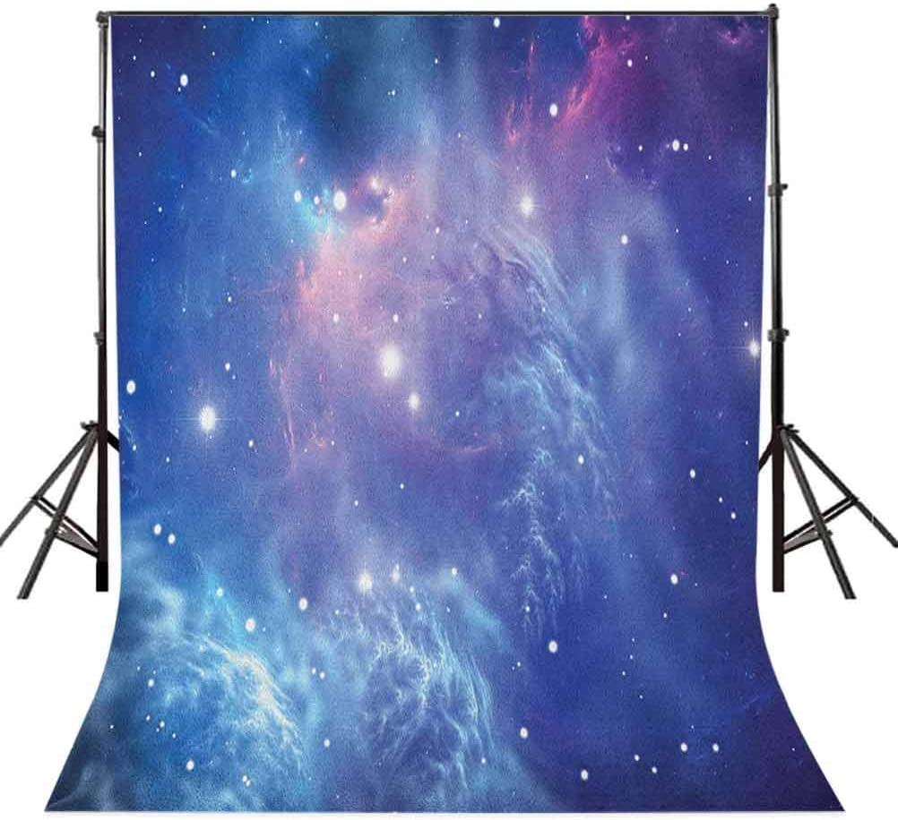 8x12 FT Outer Space Vinyl Photography Backdrop,Outer Space Nebula in The Galaxy with Star Clusters Mysterious Astronomy Art Background for Party Home Decor Outdoorsy Theme Shoot Props
