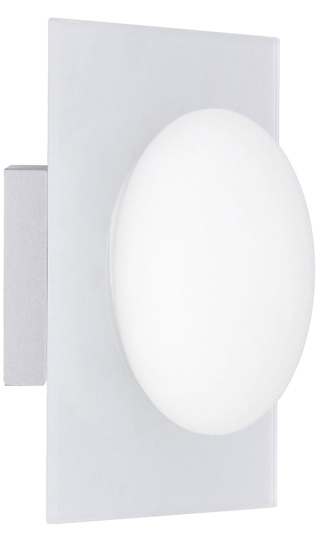 Ranex 3000.054 Applique Salle de Bain Verre Opal sur Plaque de Verre Opaque [Classe énergétique C]