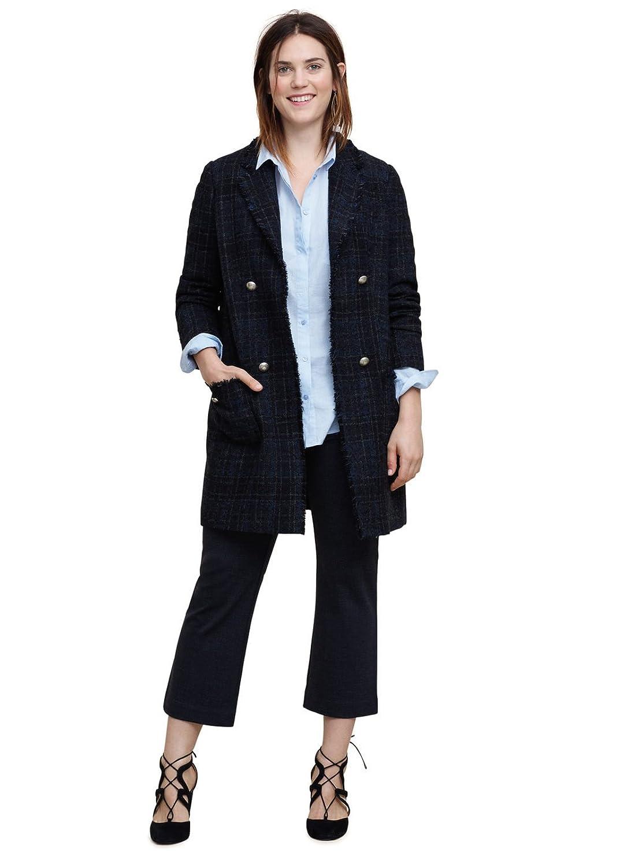 VIOLETA (Plus Size) - Tweed-mantel aus Mäntel woll-mix