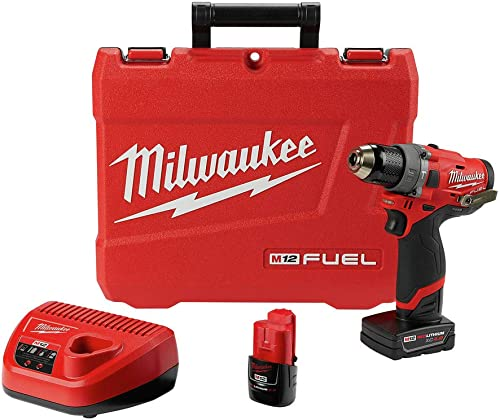 Milwaukee Electric Tools 2504-22 M12 Fuel 1 2 Hammer Drill Kit