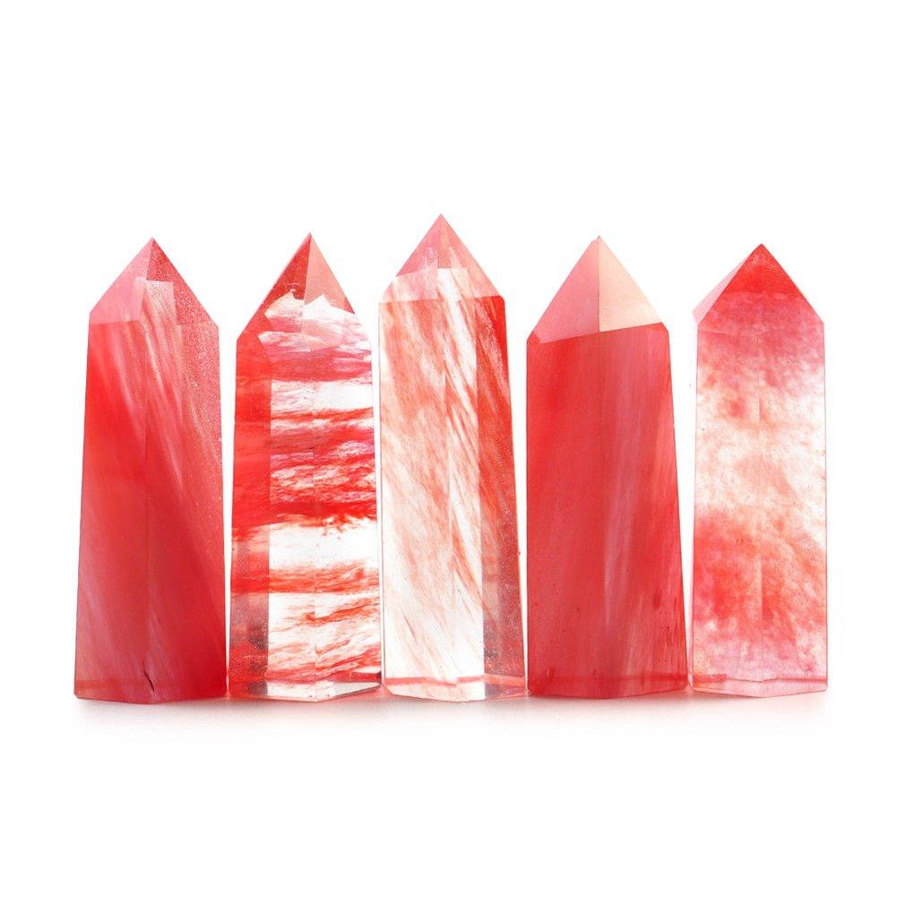 rosso fluorite cristallo parete naturale fluorite punto pietra sfaccettato pietre curative greggio reiki chakra meditazione terapia gemstone quarzo protezione amulet da yunhigh