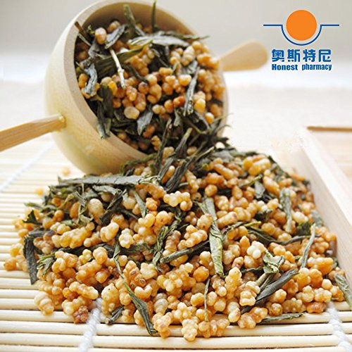 - CHIY-GBC Ltd Chinese tasty snack, tea ceremony 100g organic Premium Brown rice Green Tea Genmaicha green tea&Kirara rice tea
