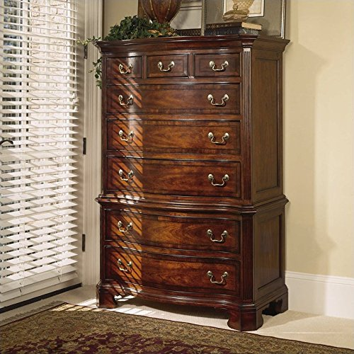 American Drew Cherry Grove 8 Drawer Chest in Antique Cherry - American Drew Drawer Dresser