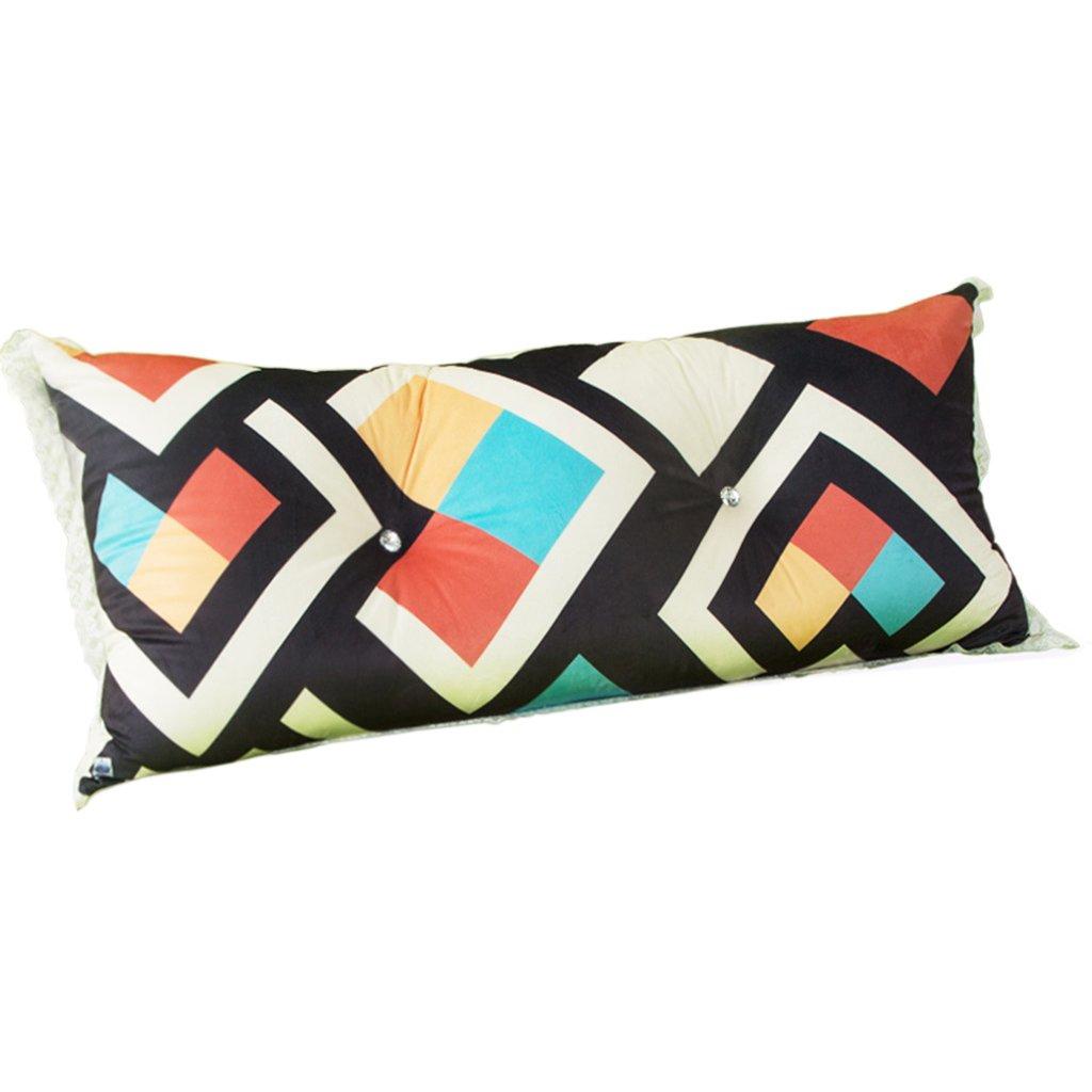 LANNA SHOP- Student Children Bedside Large Cushions Big Back Pillow Cushions Double Triangular Cushions Soft Bag Pillow ( Size : 10050cm )
