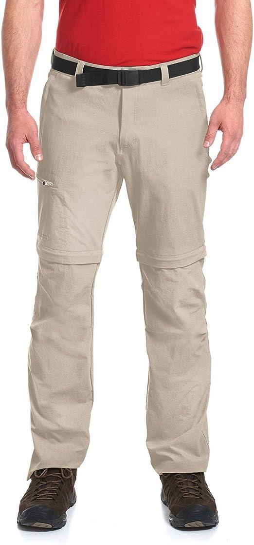 Maier Sports Arolla ZIP off pantalones señora pantalones trekking juncos Teak