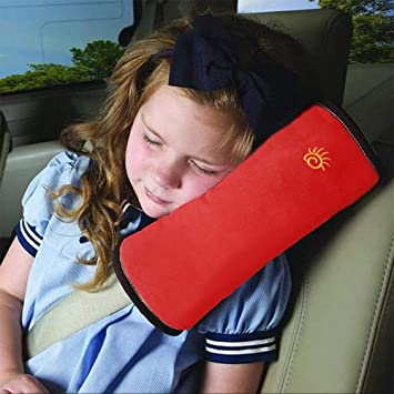 For Polo 2 Packs Seatbelt Shoulder Cushion Removable and Washable Car Seat belt Comfort Pads Seatbelt Strap Covers Blue